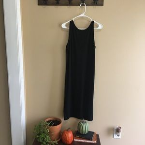 Gap sweater midi sleeveless dress with low back